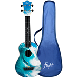 Flight TUS25 Ukulele Soprano Travel Surf