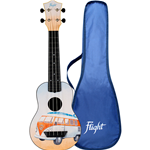 Flight TUS25 Ukulele Soprano BUS Travel