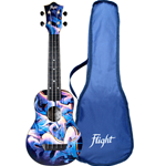 Flight TUS40 Ukulele Soprano Graffiti Travel