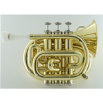 Carol Brass CPT-1000-YSS-C-L  Mini Tromba Pocket in Do Laccata