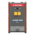 TC Electronic June60 Chorus effetto a pedale
