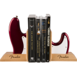 Fender Bass Body Bookends Factory Collectibles