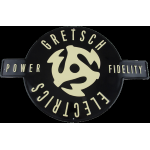 Gretsch Gretsch® Electrics Power & Fidelity™ Tin Sign Wall Décor