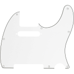 Fender 8-Hole Mount Multi-Ply Telecaster Pickguards Parchment Backplates
