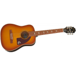 Epiphone Lil' Tex Traveler Electric/Acoustic Faded Cherry Sunburst con borsa