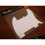 Fender 50's Battipenna Pickguard, White, 1-Ply, 5-Hole Mount Pickguards/Backplates
