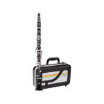 Jupiter JCL700SA Clarinetto in Sib in ABS 17 Chiavi Argentate