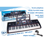Bontempi 6115 tastiera 61 tasti usb mp3