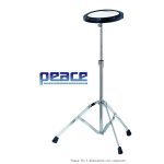"PEACE TR-3 Practice Pad 8"" con stand"