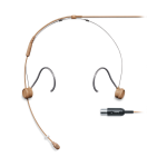 Shure TH53T/O-MTQG microfono headset color carne