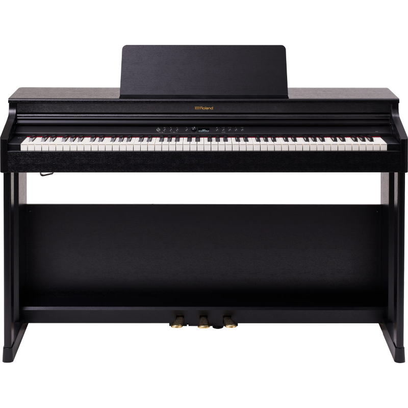 Roland RP701 CB Pianoforte Digitale con stand Charcoal Black