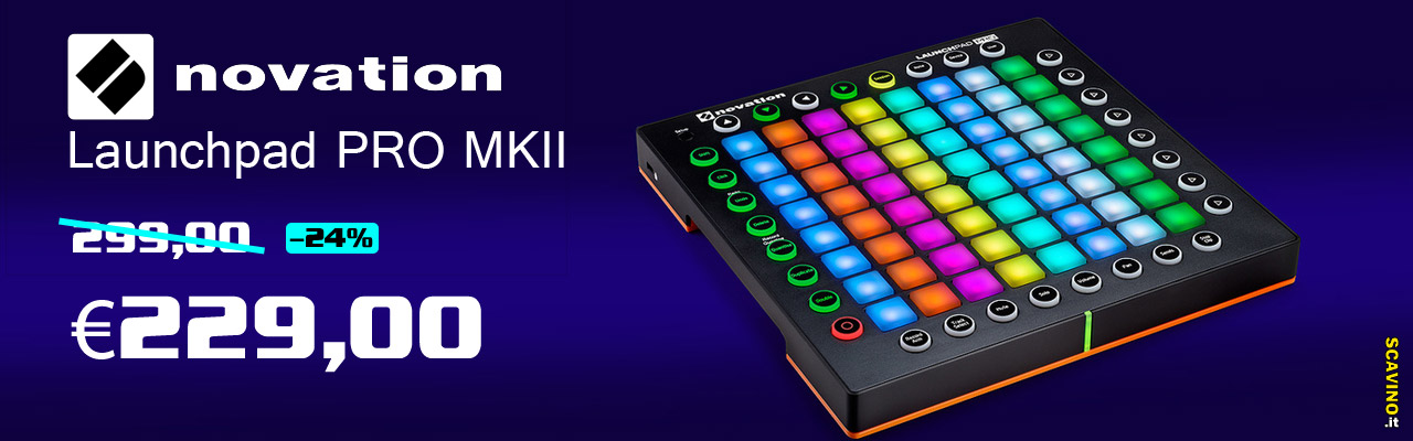 Novation Launchpad Pro Mk2 in offerta a -24% in meno