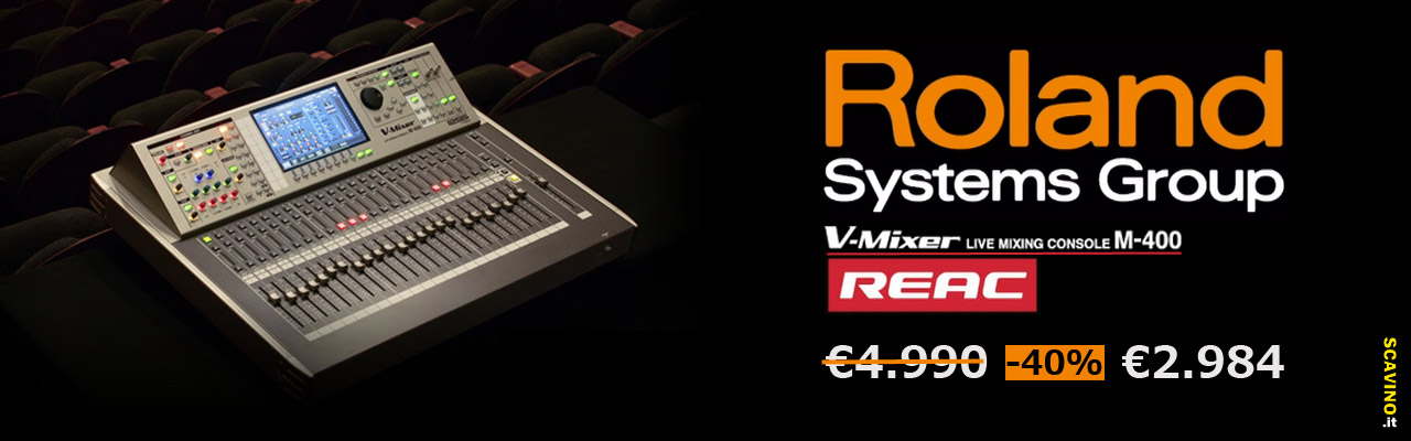 Roland V-Mixer M400 in offerta a 2984€
