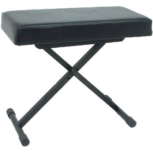 Sm pro bxs003 panca per tastiera in metallo panche seggiolini per piano o tastiera - Tastiera del letto ...