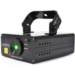 Beamz LS FC12 Laser Red Green Blue Gobo