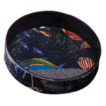 Remo ET0216-10 OCEAN DRUM cm.30 Fish Graphic