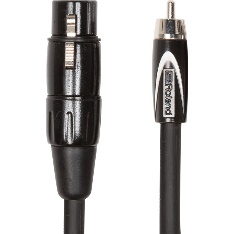 Roland RCC5RCXF Cavo RCA-XLRF 1,5m Interconnect Cable