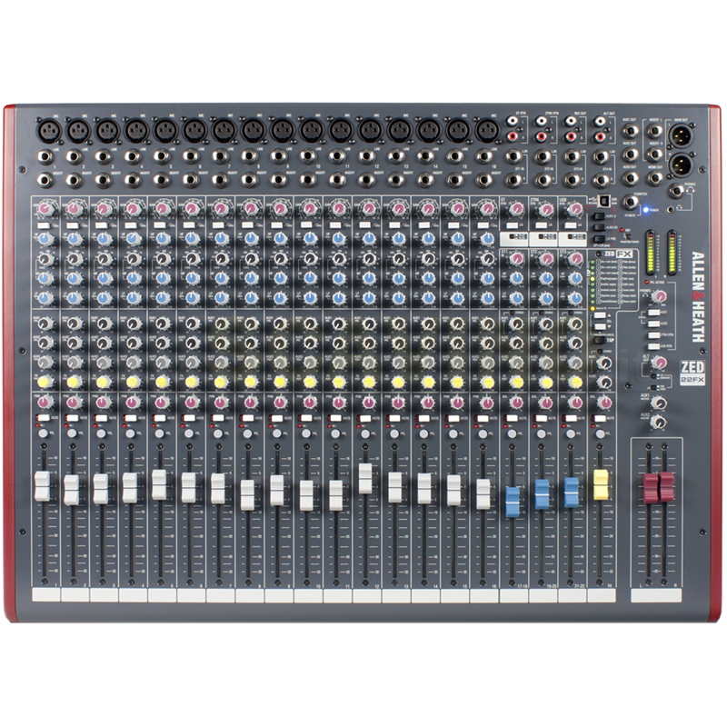 Allen & Heath ZED22FX Mixer compatto 22 canali