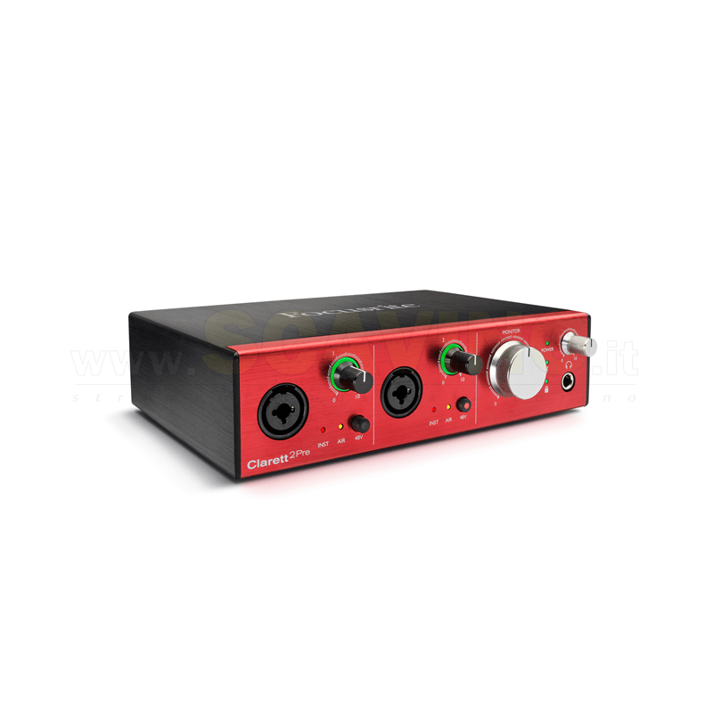Focusrite Clarett 2Pre interfaccia audio thunderbolt