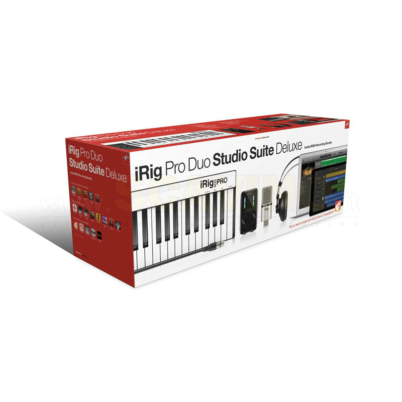 IK Multimedia iRig Pro Duo Studio Suite Deluxe bundle