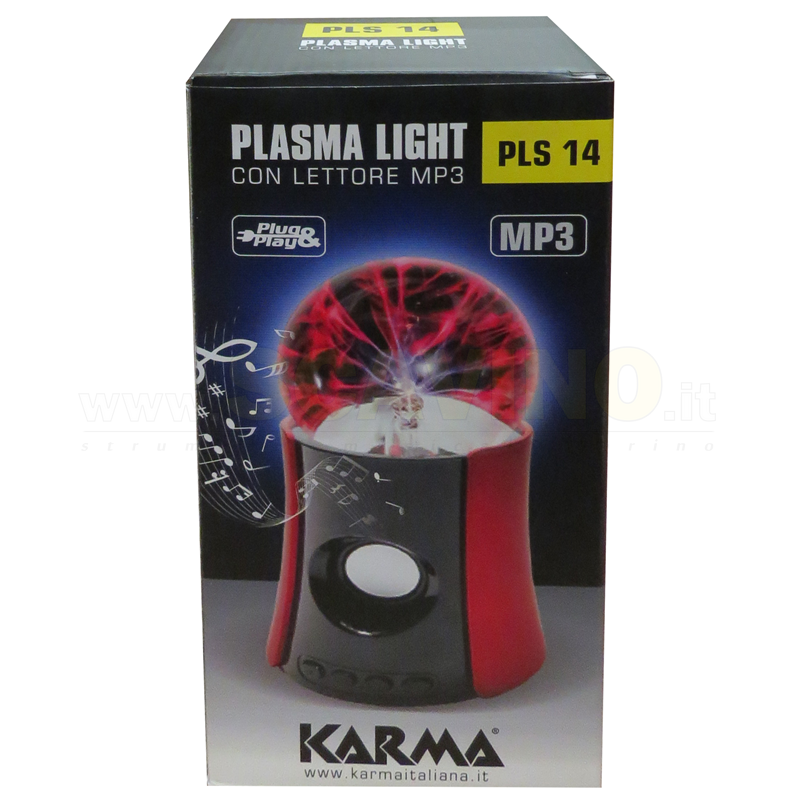 KARMA PLS 14 effetto luce al plasma  e player mp3