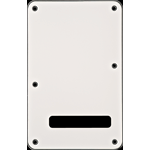 Fender Strat Back Plate White