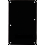 Fender Backplate, Stratocaster®, Black (B/W/B), 3-Ply