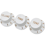 Fender Knobs Strat White 0992035000