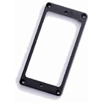 Parts Planet MT10 R BK Mascherina Flat in plastica per pick up Humbucker Nera - Ponte