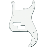 Parts Planet PB WBW - Battipenna per basso tipo Precision Bass - Bianco