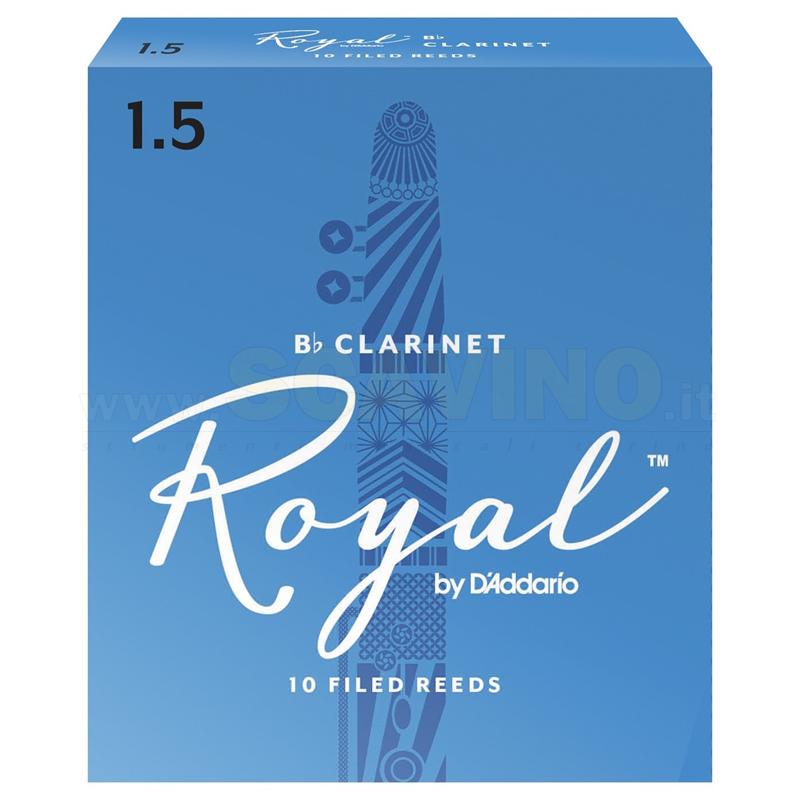 D'Addario Rico Royal Ance per Clarinetto in Sib 2.5