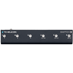 TC Helicon Switch 6 Footswitch 6 pulsanti