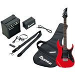 Ibanez IJRG200-RD Jumpstart - Red - kit con amplificatore e cuffie