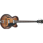 Ibanez AFBV200A-TCL - Basso elettroacustico Distressed - Tobacco Burst low gloss