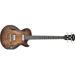 Ibanez AGBV200A-TCL - Basso elettrico hollow body Distressed - Tobacco Burst low gloss