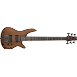 SRC6-WNF - Ibanez Bass Workshop Crossover - Walnut Flat