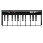 IK Multimedia iRig Keys 25 - Mini master keyboard a 25 tasti per sistemi PC e MAC