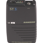 Samson ST5 - Trasmettitore Beltpack VHF per Serie Stage5/55 - CH8 (196.6 MHz)