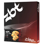 Zildjian Cartone 5 ZBT Pro 390 (ZBTP390-A): ride + hi-hat + 2 crash