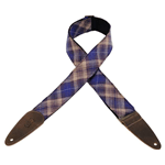 Levy's MJ2PLD-PRP - poliestere con decorazione plaid