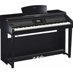 Yamaha CVP701PE Pianoforte Digitale Nero Lucido