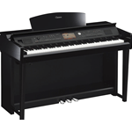 Yamaha CVP705PE Pianoforte Digitale Nero Lucido