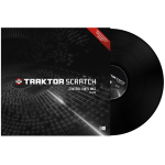 Native Instruments Scratch Control Vinyl Black MK2