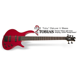 Epiphone Toby Deluxe V Trans Red  EBD5TRBH1