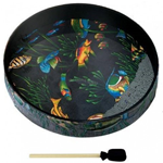 "REMO OCEAN DRUM 16""2 1/2"" Fish Graphic"