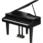 Roland GP607PE Pianoforte Digitale Nero Lucido
